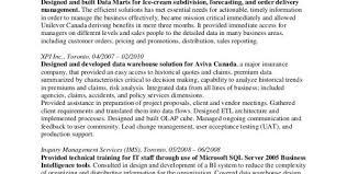 Architect Resume Sample Information Architecture Resume Data Warehouse Architect Resume