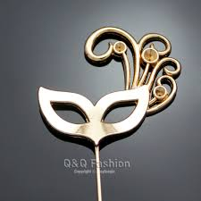 mardi gras pins gold masquerade mardi gras opera mask lapel brooch tie clip bar