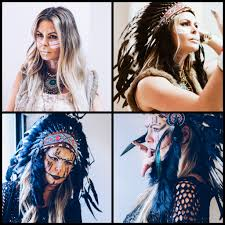 Indian Halloween Makeup How To Wear Indian Headdress For Halloween Glamourim