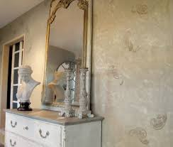 eclectic wall art bedroom shabby chic style with wall of mirrors