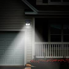 Solar Powered Wall Lights Uk - led outside lights solar motion sensor light small solar security