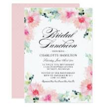 bridal luncheon invitations luncheon invitations announcements zazzle
