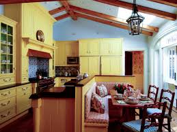 country modern kitchen ideas kitchen striking yellow kitchen with colorful floors for