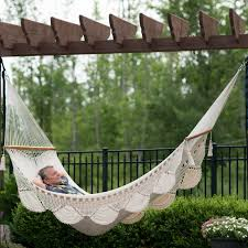 large spreader bar double hammock beige u2013 wholestory
