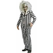 beetlejuice men u0027s halloween costume walmart com