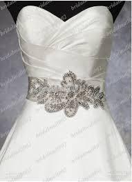 Wedding Dress Sashes Top Quality 2015 Elegant Hand Made Wedding Dress Belt Bridal