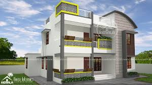 square feet double floor contemporary home design