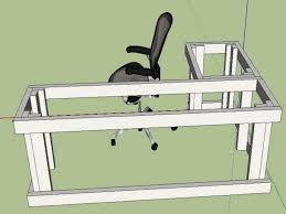 l shaped desk plans diy google search projects pinterest