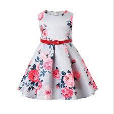 aliexpress com buy 2017 new fashion kids floral pattern frock