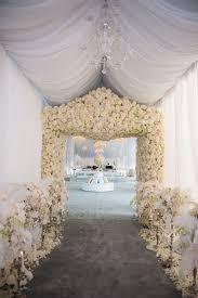 wedding arch entrance white flowers wedding arch alter deer pearl flowers