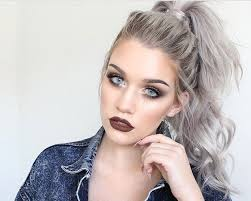 grey hairstyles for young women trending hair colors the young shopaholic
