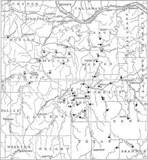 missouri caves map the project gutenberg ebook of archeological investigations by