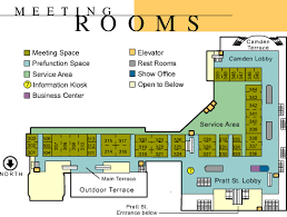 washington convention center floor plan venues baltimore convention center