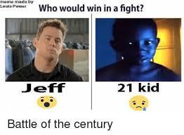 Win Kid Meme - meme made by louis power who would win in a fight jeff 21 kid