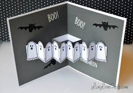 halloween ghost popup card youtube