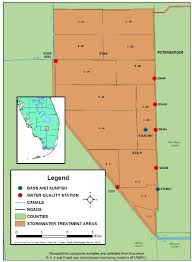 Map Of Broward County Florida by Figure C 6 Map Of Sta 5 6 Showing Current Mercury Monitoring