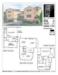townhome plan d3016 u3 architecture and house plans pinterest
