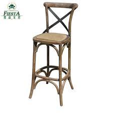 oak wood bar stools french oak wood cross back cross bar chair rattan bar chairs face