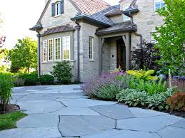 Ideas Landscaping Front Yard - front landscaping ideas landscape traditional with flagstone walk