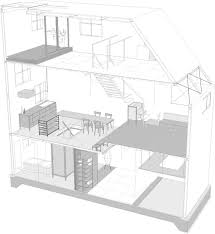 cul de sac floor plans house in itami by tato architects sits on a narrow cul de sac