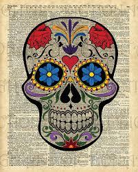 Sugar Skulls For Sale Happy Skull Sugar Skull Dia De Los Muertos Halloween Artwork