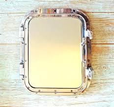 nautical mirror bathroom nautical porthole mirror uk beach style bathroom mirrors info with