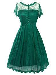 green xl funky short wedding a line dress with sleeves rosegal com