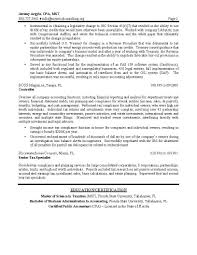 Tax Accounting Resume Sales Accountant Sample Resume