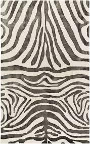 Animal Area Rug Animal Print Rug Geology Gol 2460 Black Animal Print Rug