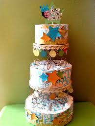 paper diaper cake tutorial