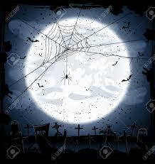 halloween effects white background dark halloween night is