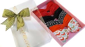 bows for gift boxes emilyrose couture hair bow gift set premium gift box