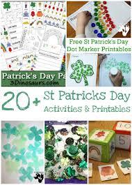 20 st patrick u0027s day printables u0026 activities 3 dinosaurs