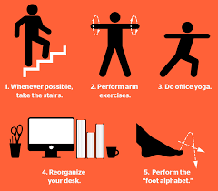 Office Desk Workout by Easy Exercises To Do At Your Desk