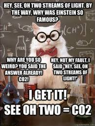 Make Your Own Cat Meme - science cat meme galleryhip com the hippest galleries funny