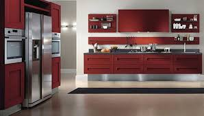 modern kitchen cabinets with spaciousness and minimalism concepts