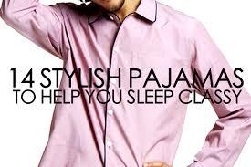 14 stylish pajamas to help you sleep refined