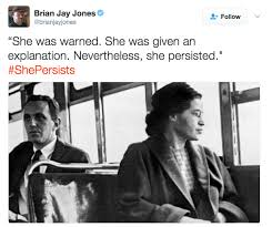 Rosa Parks Meme - rosa parks shepersisted know your meme