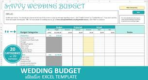 Wedding Expenses List Spreadsheet Savvy Wedding Budget Turquoise Excel Wedding Budget