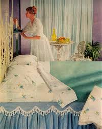Mid Century Modern Bedroom Set Vintage Mid Century Modern Sheets 1958 Retrobedroom 1950s