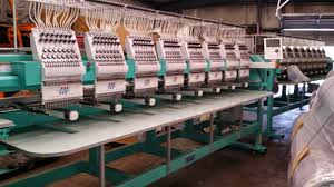 single head 12 needle reconditioned swf embroidery machine