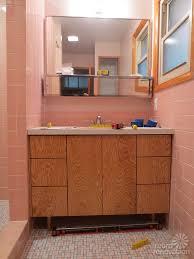 Mid Century Modern Bathroom Vanity Kate Builds A Mid Century Modern Bathroom Vanity Total Cost