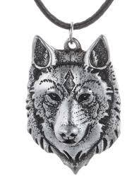 wolf necklace images Handsome wolf necklace jpg