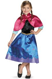 Walmart Halloween Costumes Toddler Frozen Anna Child Halloween Costume Walmart