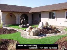 Fake Grass For Backyard by Artificial Grass Front Lawn Fake Grass Picture Collection Youtube