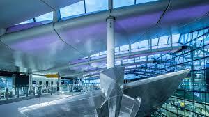heathrow terminal 2a lighting design u2013 studiofractal