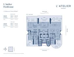Axis Brickell Floor Plans L U0027atelier Luxury Condo For Sale Rent Floor Plans Sold Prices Af