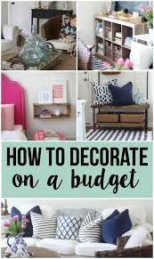 Decorating Homes On A Budget Decorating On A Budget Making Home Base