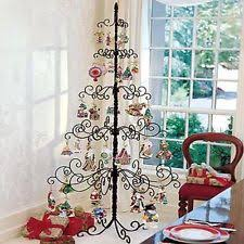 simple design metal tree ornament display artificial