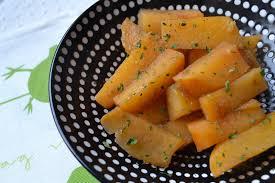 cuisiner rutabaga rutabaga confit au miel et aux épices hum ça sent bon